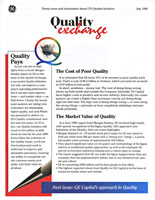 GE Capital CFX Print Newsletter Design Spread