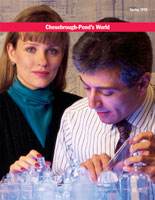 Chesebrough-Pond's and Unilever Cover of Lab Print Brochure Design