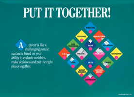 Layout of Chesebrough-Pond's and Unilever Cover of Together Brochure
