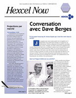 Print Layout of Hexcel French Newsletter Cover