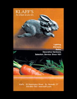 Design of Klaff's Carrots Print Advertisement