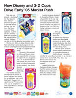 Playtex Newsletter design inside