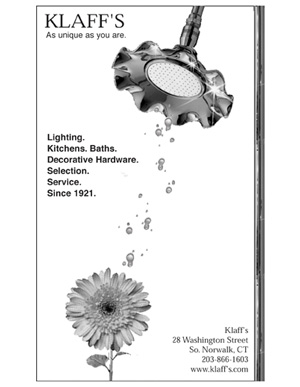"Advertisement for Klaff's, Norwalk, CT - ""April Showers"""