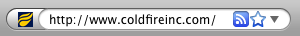 The Coldfire Flame Favicon